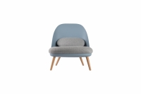 FAUTEUIL RELAX COCOON GRIS CLAIR