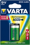 ACCUS RECHARGEABLE VARTA - 1 ACCUS - 9V 6F22