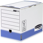 BOITE A ARCHIVES - BANKERS BOX DOS DE 20 - LOT DE 10