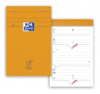 BLOC MESSAGE OXFORD - 80 FEUILLES - 11 x 17 cm