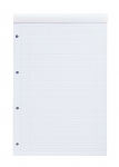 BLOC-NOTES NOTEPAD INTERNATIONAL OXFORD -  LIGNE 6 MM - BLANC