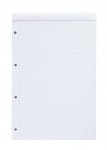 BLOC-NOTES NOTEPAD INTERNATIONAL OXFORD -  LIGNE 6 MM - JAUNE