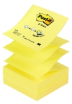 BLOC DE RECHARGE Z-NOTES - JAUNE - 76 x 76 mm
