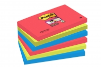 BLOC SUPER STICKY BORA BORA POST-IT 76X127