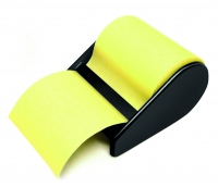 ROULEAU NOTES REPOSITIONNABLES - COLORIS JAUNE