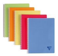 CAHIER CLAIREFONTAINE LINICOLOR 180 PAGES 5X5