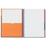 FILINGBOOK OXFORD - LE CAHIER - LIGNE 6 MM