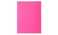 LOT DE 100 CHEMISES DOSSIERS ROCK'S EXACOMPTA ROSE