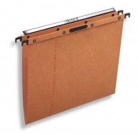 DOSSIERS SUSPENDUS TIROIR - ATTACHE EASY VELCRO - FOND V - ORANGE