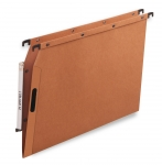 DOSSIERS SUSPENDUS ARMOIRE ATTACHE EASY VELCRO - FOND V - ORANGE