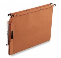 DOSSIERS SUSPENDUS ARMOIRE ATTACHE EASY VELCRO - FOND 1,5 cm - ORANGE
