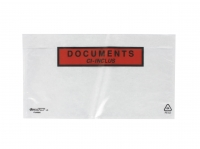 LOT DE 100 POCHETTES « DOCUMENTS CI-INCLUS » - 22 X 12 CM
