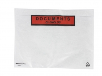 LOT DE 100 POCHETTES « DOCUMENTS CI-INCLUS » - 16 X 22 CM