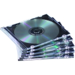 BOITIER TRANSPARENT CD/DVD