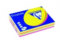 Ramette A4 trophée fluo assortis 80g - Clairefontaine