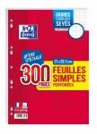 FEUILLES SIMPLES - OXFORD - 90G PERFOREES SEYES - 300P