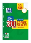 COPIES DOUBLES - OXFORD - 90G PERFOREES 5X5 - 300P