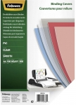 PLAT DE COUVERTURE - FELLOWES - PVC TRANSPARENT A4 300 MICRONS - BOITE DE 100
