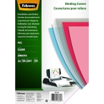 PLAT DE COUVERTURE - FELLOWES - PVC TRANSPARENT A4 150 MICRONS - BOITE DE 100