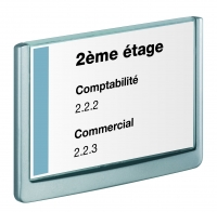 PLAQUE DE SIGNALISATION CLICK SIGN FORMAT A5 210 X 148 MM DURABLE