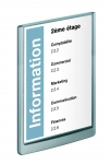 PLAQUE DE SIGNALISATION CLICK SIGN FORMAT A4 210 X 297 MM DURABLE