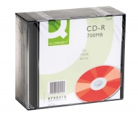 10 CD-R Q-CONNECT