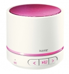 MINI -ENCEINTE BLUETOOTH LEITZ - BLANC / ROSE