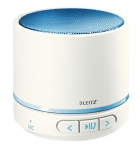 MINI-ENCEINTES BLUETOOTH WOW BLANCHE/BLEUE LEITZ