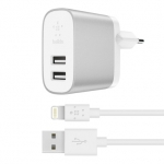 CHARGEUR SECTEUR USB-A 2 PORTS BELKIN BOOST CHARGE