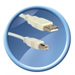 CABLE USB 2.0 AM/BM 1,8M