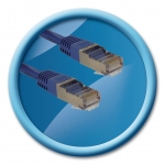 CABLE RJ45 M/M STP CAT. 5E DROIT 3M