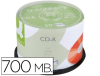 SPINDLE 50 CD-R Q-CONNECT 700MB 80MIN 52X