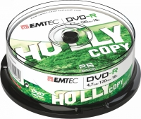 SPINDLE DE 25 DVD+R 4,7 GB EMTEC 16X