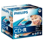 CD-R IMPRIMABLE 80MN 52X PHILIPS