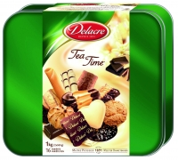 BISCUITS TEA TIME DELACRE BOITE 1KG