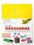 MOUSSE ADHESIVE MOSAIQUE 1X1CM - 1596 PIECES