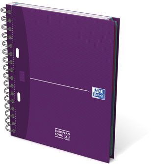 CAHIER EUROPEAN BOOK OXFORD -  24 X 32 CM - A4+