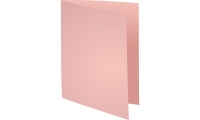 LOT DE 100 CHEMISES DOSSIER FOREVER EXACOMPTA ROSE 220G